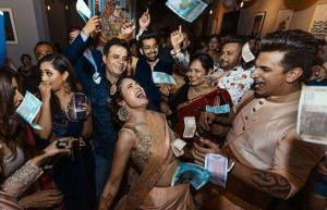 Prince and Yuvika's 'Sangeet' ceremony