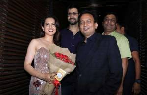 Manikarnika's wrap up party