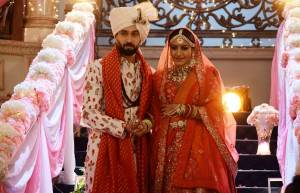 StarPlus' Ishqbaaaz: Wedding photo album