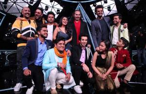 Badshah steals the stage on Indian Idol 10