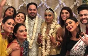 TV celebs shower best wishes on Additi Gupta- Kabir Chopra's wedding