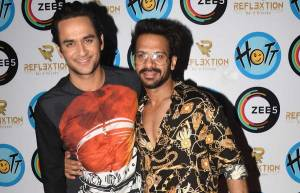 Karan Veer Mehra hosts a bash for Hott Studios