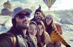 Anita, Rohit, Karan, Ankita and Ekta's holiday in Istanbul
