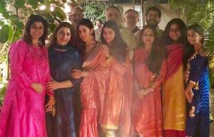 In pics: Sara Ali Khan celebrates Lohri with family and friends