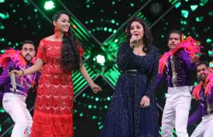 Sunidhi Chauhan Performs at Sa Re Ga Ma Pa Finale