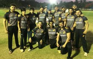 TV actors at a Cricket tournament