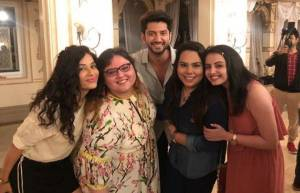 In pics: Ishqbaaaz team's farewell party on the sets