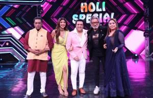 Govinda and Shakti Kapoor grace Super Dancer 3 for Holi Special
