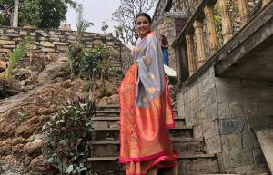 Ek Bhram - Sarvagun Sampanna actors launch show at 1000-year-old Udaipur temple