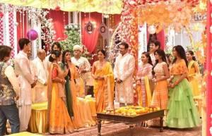 Ketki's Haldi ceremony in Rajan Shahi's Ye Risthe Hai Pyar Ke