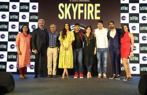 Launch of ZEE5's web series titled Skyfire