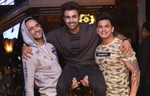 "Celebrities at the launch of Pearl V Puri and Anita Hasnandani's ""Peerh Meri"""