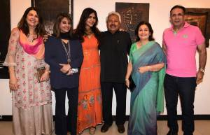 Art patron Nisha JamVwal presents solo show of famed artist Ritu Dhillon