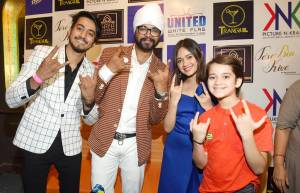 "Launch of Ramji Gulati's ""Tere Bin Kive"" starring Faisu and Jannat Zubair Rehmani"