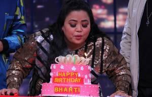 Harsh surprises birthday girl Bharti on sets of Khatra Khatra Khatra