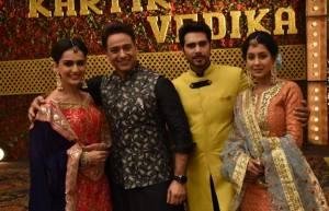 Kartik and Vedika's mehendi ceremony in Yeh Rishta