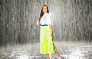 In Pics:  TV actresses enjoy monsoon