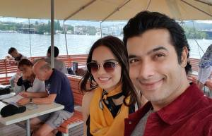 Ssharad Malhotra and wife Ripci enjoys honeymoon in Europe