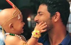 Baby Arzan Shaikh dons the avatar of Lord Krishna in Tujhse Hai Raabta