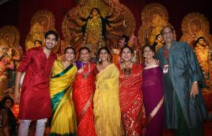 Celeb galore at Durga pooja