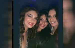 Pooja Banerjee's star-studded birthday bash