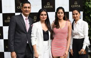 Celebs at a jewellery launch