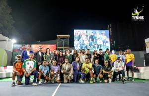 Celebs at Tennis Premier League Launch season 2