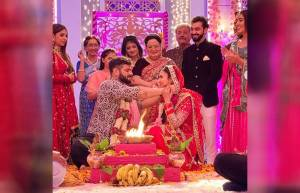 In pics: Raman and Ishita's re-shaadi in Yeh Hai Mohabbatein