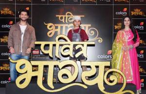 Launch of Kunal Jaisingh and Aneri Vajani starrer Pavitra Bhagya