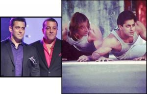 Salman Khan and Sanjay Dutt