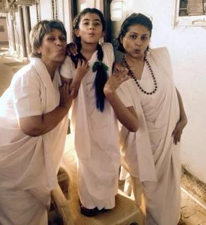 Pouty 'Gangaa' ladies!