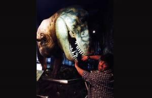 Kiku in Jurassic Park