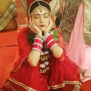 Sleeping Bride!