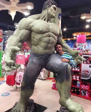 'Hulk' love!
