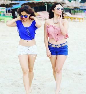 Girls In Blue!