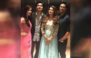 Jennifer Winget, Harshad Chopda, Sehban Azim