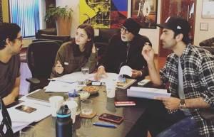 Ranbir Kapoor, Alia Bhatt, Amitabh Bachchan