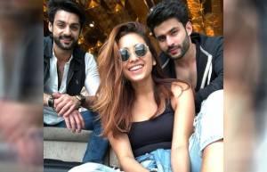 Asha Negi, Karan Wahi, Rahul Roy