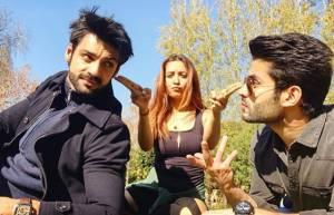 Karan Wahi, Asha Negi, Rahul Sharma