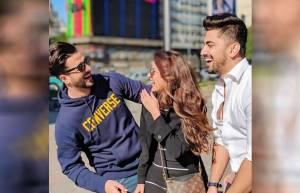 Aly Goni, Jasmin Bhasin, Zain Imam