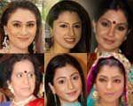 Eva Grover, Rucha Hasabnis, Shubhangi Atre, Usha Nadkarni, Benaf Dadachandji, Snigdha Pandey