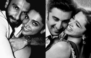 Ranveer Singh, Ranbir Kapoor, Deepika Padukone