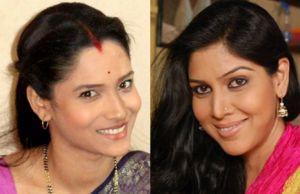 Ankita Lokhande and Sakshi Tanwar