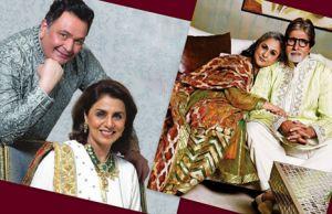 Rishi-Neetu Kapoor and Amitabh-Jaya Bachchan