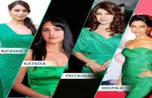 Bipasha Basu,Katrina Kaif,Priyanka Chopra,Deepika Padukone