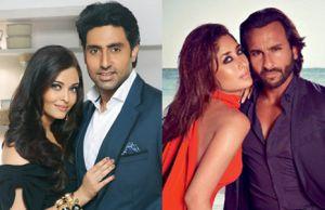 Abhishek Bachchan Aishwarya Rai Bachchan,Saif Ali Khan, Kareena Kapoor