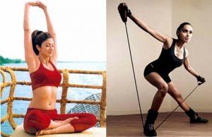 Shilpa Shetty and Bipasha Basu