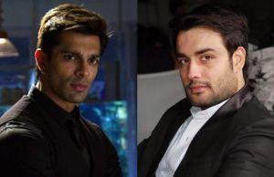 Karan Singh Grover and Vivian Dsena