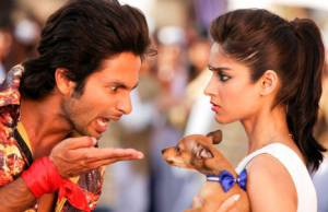 Shahid Kapoor and Ileana Dcruz