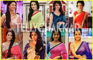 Which TV actress looks BEST in Saree?